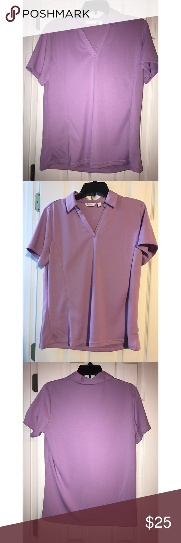 Purple Women's Golf Shirt Dry fit, BRAND NEW AND NEVER WORN! lady hagen Tops Tees - Short Sleeve