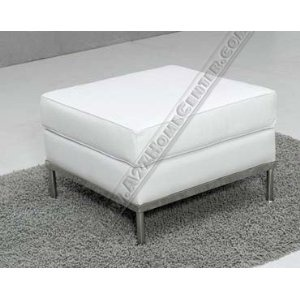 modern line furniture modern le corbusier style white leather ottoman price19995