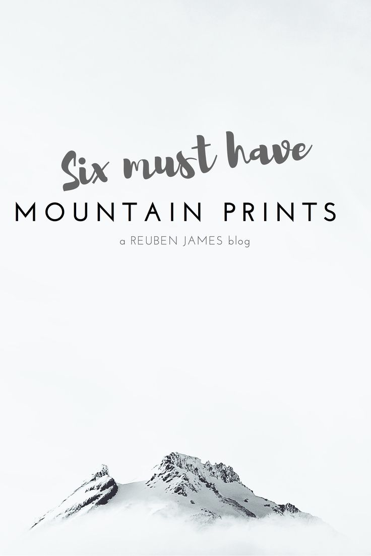 Escape to the mountains with 6 must have photographic mountain prints - guest blog by Hannah Straight from Duett Design - shop here: https://www.duettdesign.co.nz/collections/photographic-prints