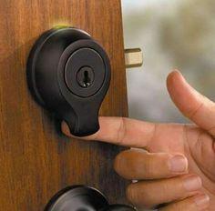 Finger print door lock.