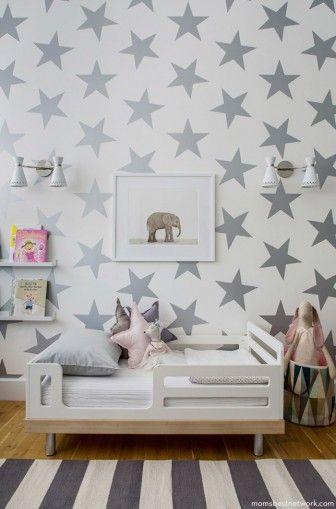 Bebek odaları için duvar kağıdı