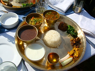 Taste of Nepal: Daal-Bhaat-Tarkaari.... could eat Nepali everyday....so healthy, so delicious