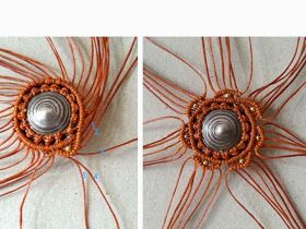 Ecocrafta: SUN Macrame Necklace