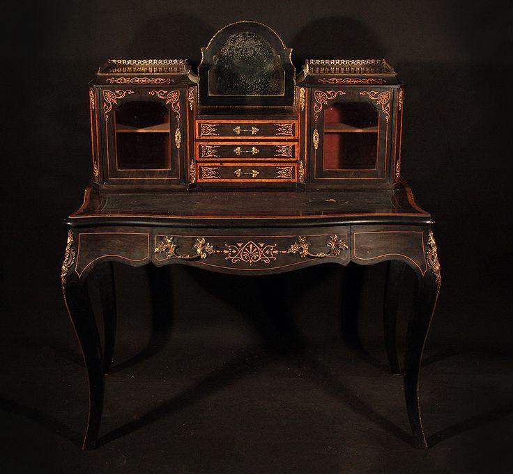 Napoleon III dresser XIX. more pict. www.empire-antyki.com