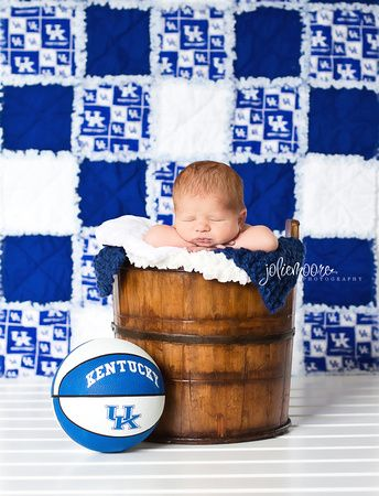 Kentucky newborn, Kentucky Wildcats, University of Kentucky, Basketball newborn, boy newborn, sport newborn