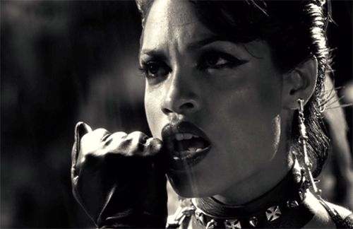 New party member! Tags: raining sin city rosario dawson