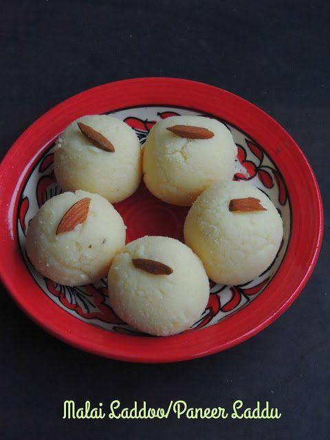 Malai Ladoo/Paneer Laddu