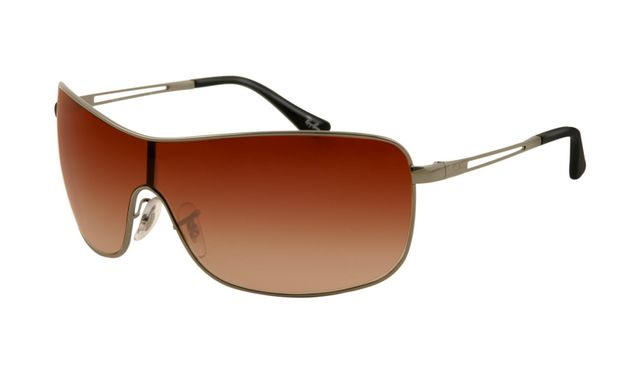 Wholesale Rayban Outlet RB3466 Gunmetal Frame Red Gradient Lens Sunglasses