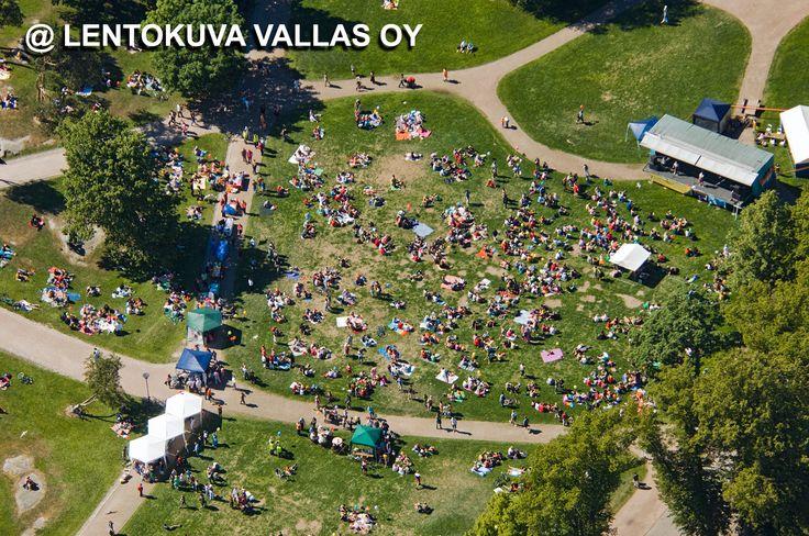 Helsinki, Kaivopuisto Ilmakuva: Lentokuva Vallas Oy