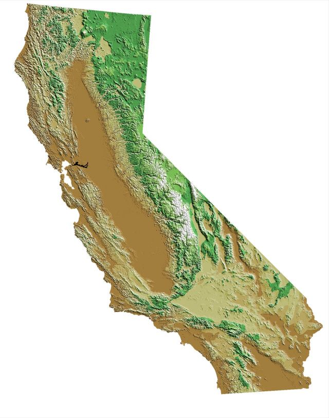 40 Best California Geography Images