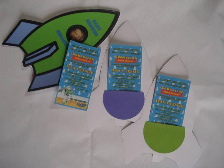 Invitación Buzz Lightyear para Baby Shower   https://www.facebook.com/photo.php?fbid=565655253497156&set=a.506489879413694.1073741833.427395250656491&type=3&theater