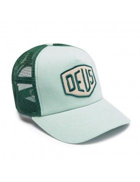 DEUS Trucker pet Foxtrot Shield - mint