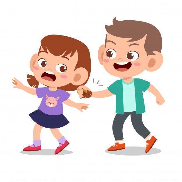 Kid Bully Friend Bad Behaviour Not Good Child Bullying Bad Behavior Kids Cute Kids