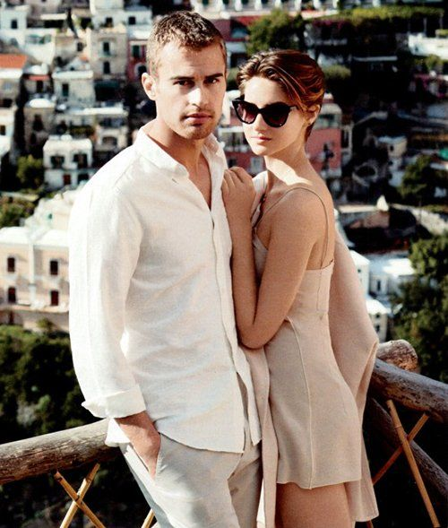 March 2014 InStyle Magazine with Theo and Shai