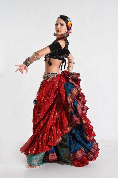 Ryazan/ American tribal style /Nelly Aleshina/ Loco Gypsy Tribe