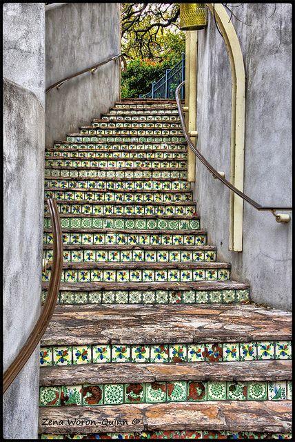 Mozaïek+Tegels - Mosaic+Tiles ~Trap *Stairs~