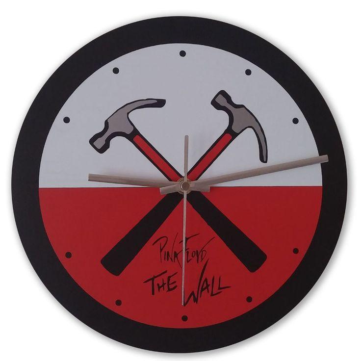 Часы настенные - Pink Floyd. The Wall.