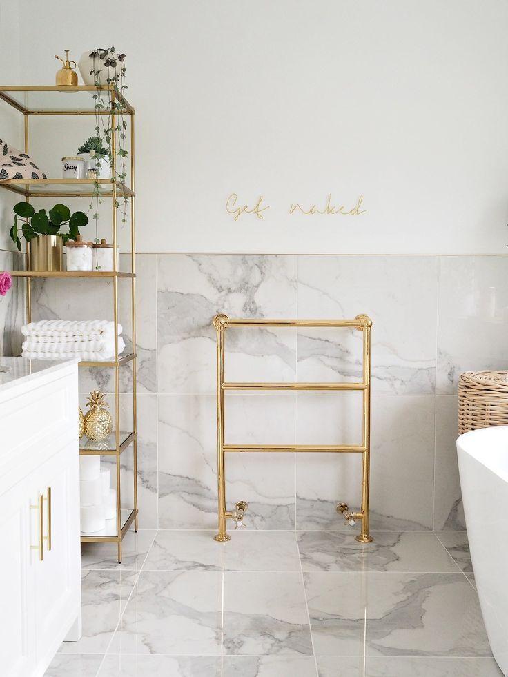 Marble Gold Bathroom Badezimmer Badezimmerdesign Luxusinterieur Badezimmer Amp Badezimmer Gold Bathroom Gold Bathroom Decor Bathroom Interior Design