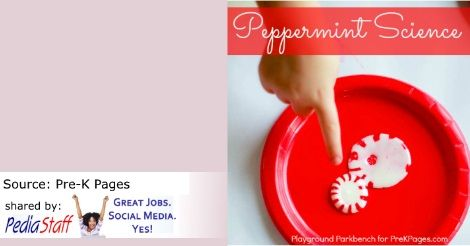 Peppermint Science: A Holiday Exploration of Temperature - pinned by @PediaStaff – Please Visit  ht.ly/63sNt for all our pediatric therapy pins