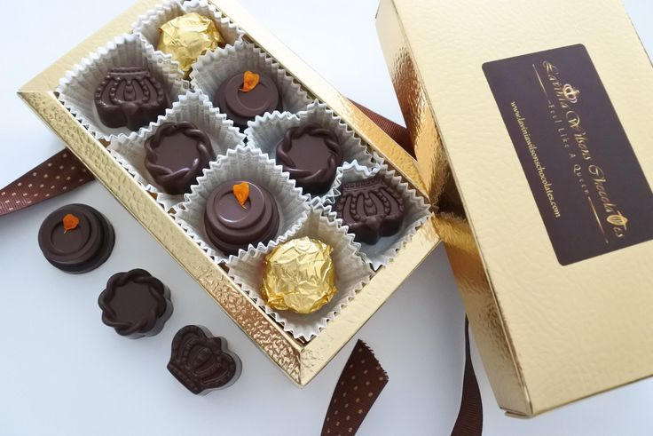 Our Organic chocolate Personalised Mixed Box of 8 at https://www.laviniawilsonschocolates.com/product/organic-chocolates/