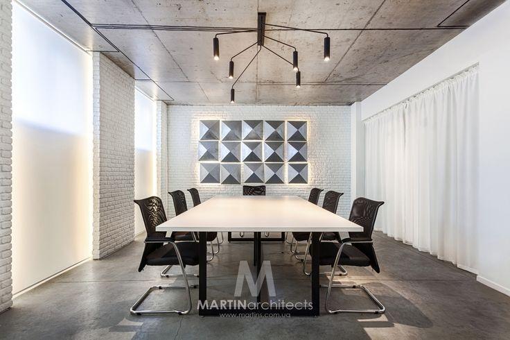 "Office ""white chocolate"" by MARTINarchitects. Ukraine. 2016,"