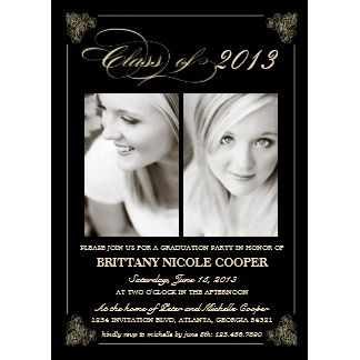 18 best Graduation invitation templates images on Pinterest Grad