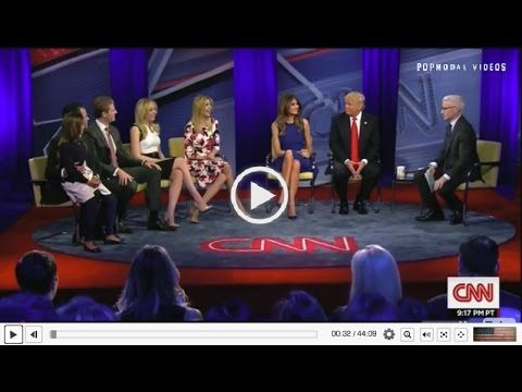 Get to Know Donald Trump's family - MUST SEE INTERVIEW CNN town hall interview 4/12/16 - YouTube