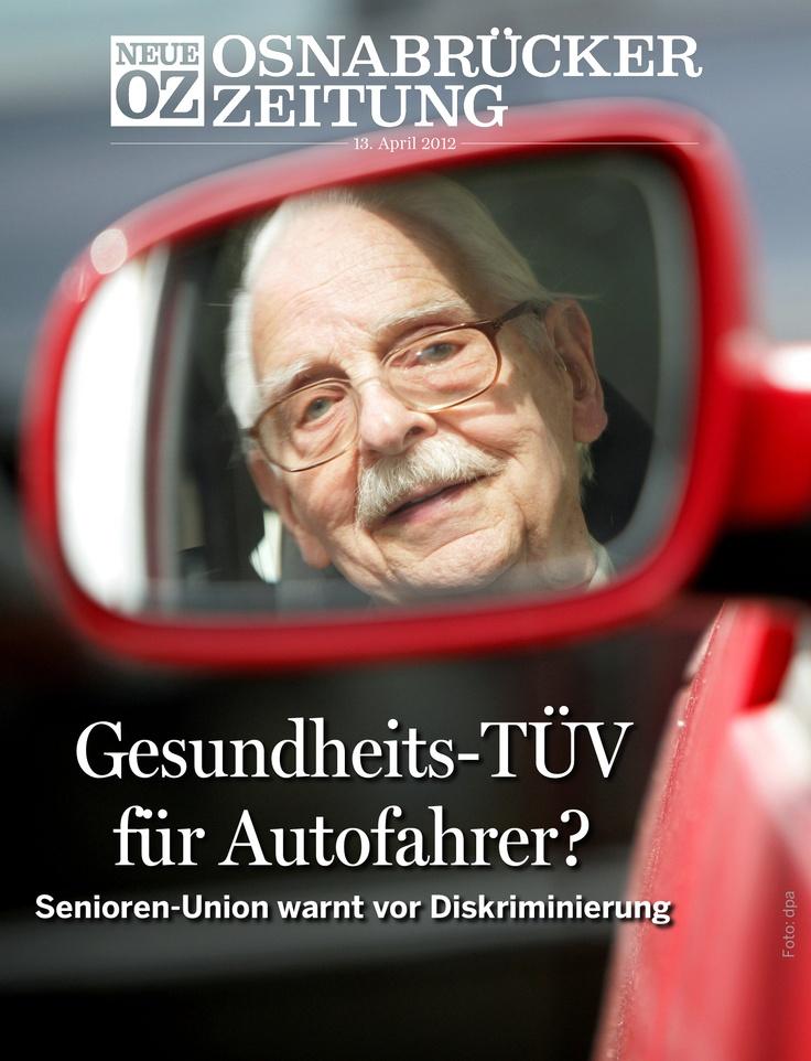 Gesundheits-TÜV für Autofahrer? Die Diskussion läuft und mitten drin die Senioren. Das ist unser Cover-Thema am 13. April. #app #apple #ipad