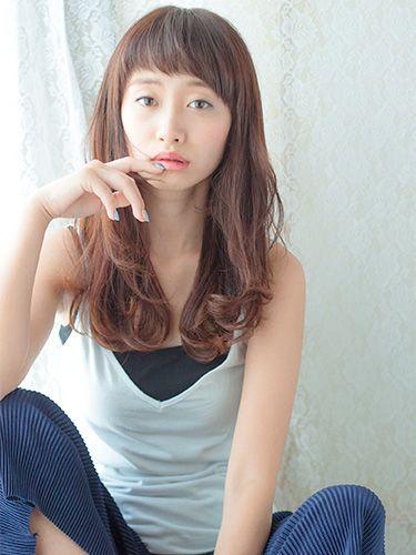 松井 賢太郎 | Bella Dolce (ベラ ドルチェ) | ビューティーBOXヘア ... 大人可愛い無造作ロング