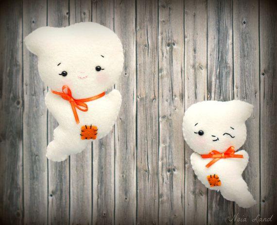 Pdf pattern. Ghost house. Softie Pattern Soft felt Toy par Noialand
