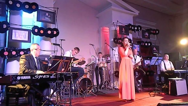 "Ella Fitzgerald - ""My Man"" исполняет ""Джаз Тайм"" и Елена Троян"