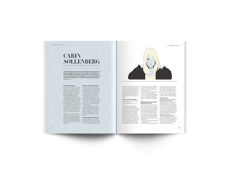 Creative dot magazine part 3 // School project with Emmeli Ahlander, Frida Bäcklund and Rebecca Lagerstedt. // Concept, layout, content, printing - everything!
