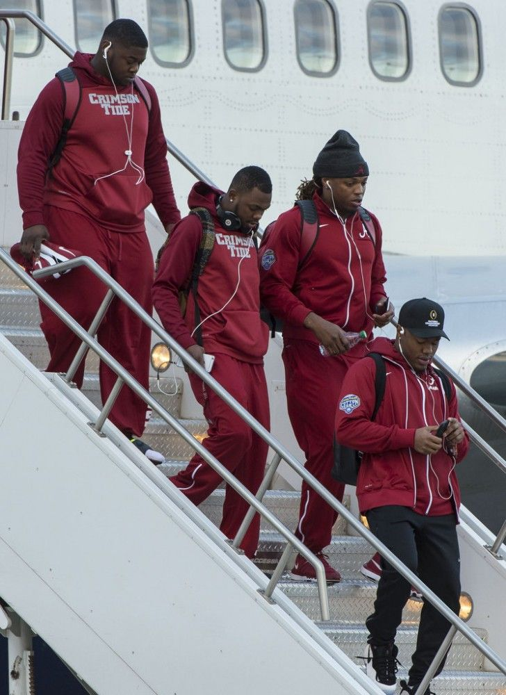 Alabama Crimson Tide arrives to Phoenix ahead of 2016 National Championship | AL.com