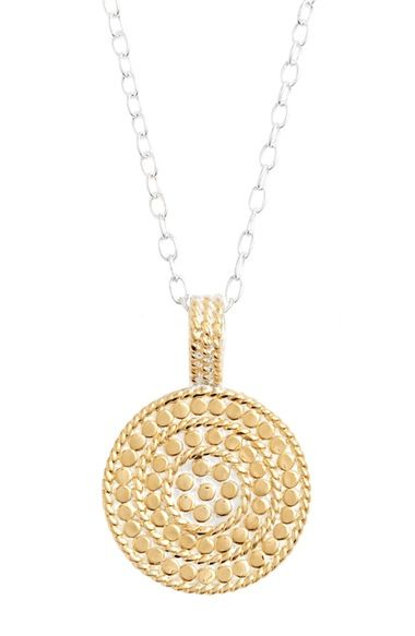 Anna Beck 'Circle of Life' Pendant Necklace available at #Nordstrom
