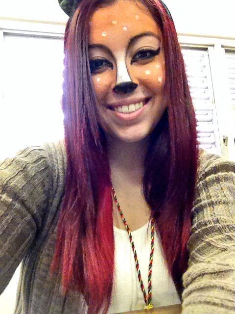 Go back gt gallery for gt reindeer makeup pinterest