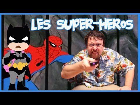 Joueur du Grenier - Hors série - Les super-héros - YouTube