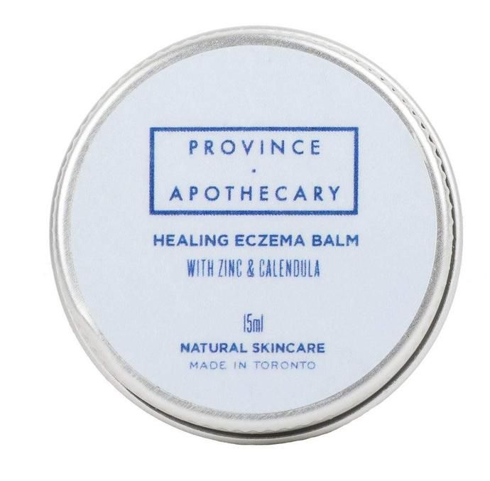 Province Apothecary Eczema Skin Balm available on Labrador Supply Co. for $19 cad (15ml) or $52 cad (80ml)