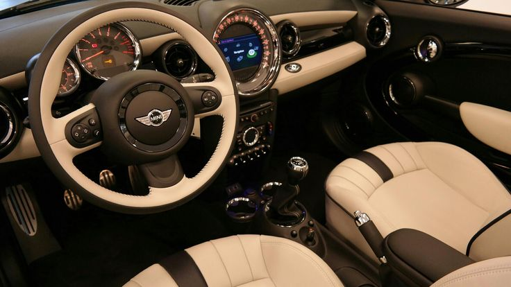 2015 MINI Cooper Convertible 2dr S Left Front Interior Photo