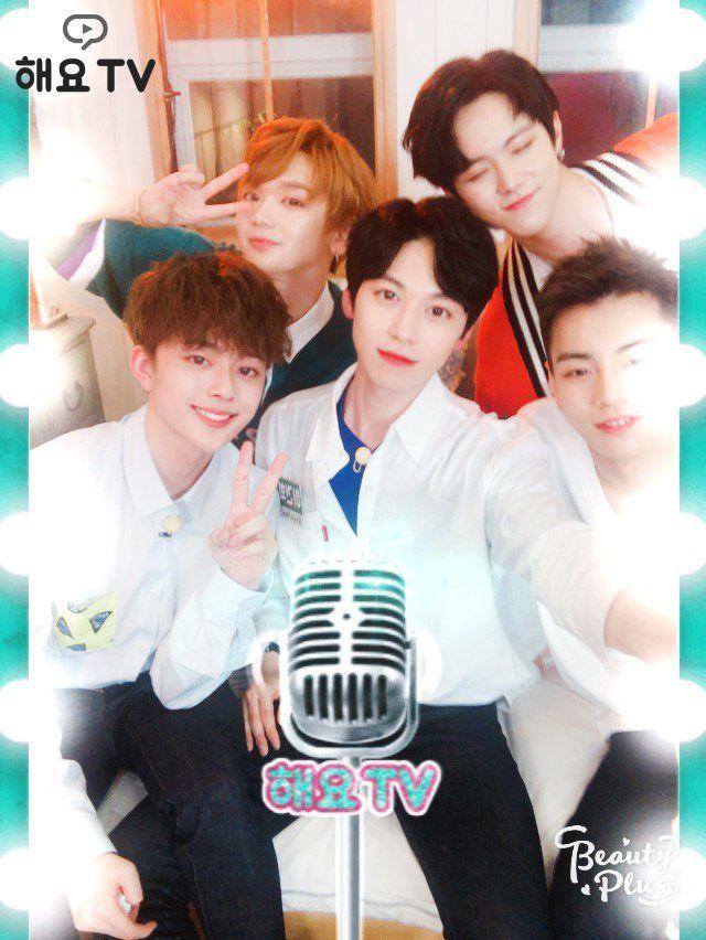 Donghan, Keonhee, Seonho, Kenta & Sangkyun