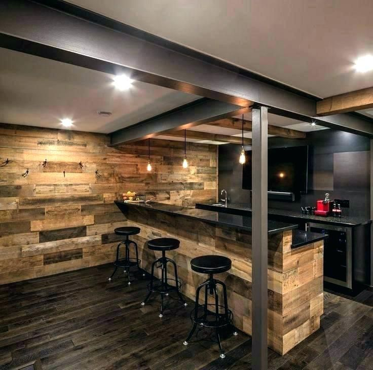 Rustic Home Bar Ideas Basement Delightful Kitchen Cabinets