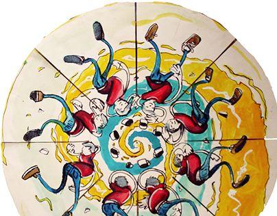 """Check out new work on my @Behance portfolio: """"fenaquistiscopio"""" http://be.net/gallery/32241559/fenaquistiscopio"""