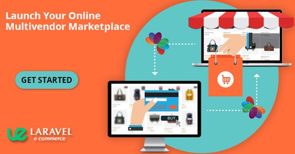 laravel ecommerce multi vendor marketplace platform with