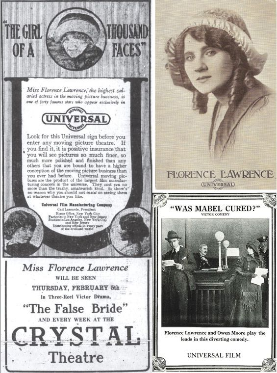The tragic part of Florence Lawrence's career