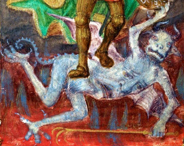 47 best diab y images on pinterest middle ages demons and illuminated manuscript. Black Bedroom Furniture Sets. Home Design Ideas
