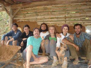 Bioconstrução no arraial de São Sebastião do Monte Verde, Lima Duarte – MG | Permacultura do Saracura