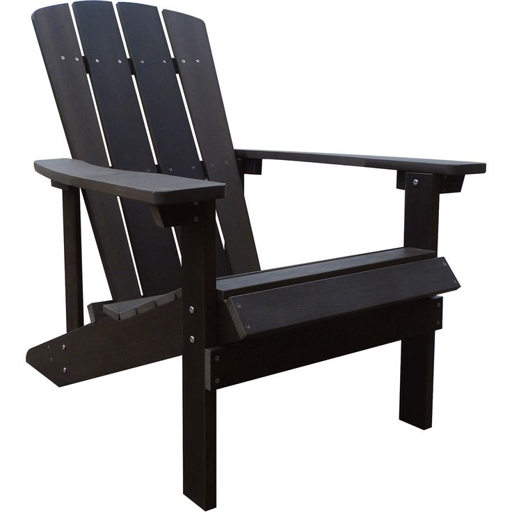 Stonegate Designs Composite Adirondack Chair — Fixed Styling, Chocolate Brown, Model# 31396-E | Chairs| Northern Tool + Equipment