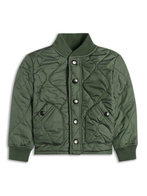 Boys Boutique Army Green Quilted Jacket - Baby Boutique Shop #boys_jacket