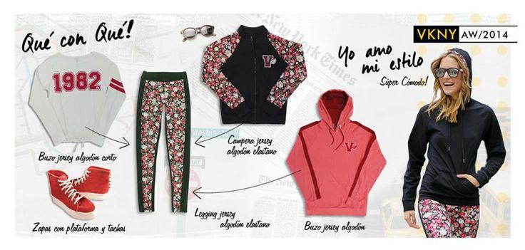 Estilos Vitnik para usar en todo momento!! Te mostramos algunos tips para que combines tus prendas VK y generes varios looks... Te animás?