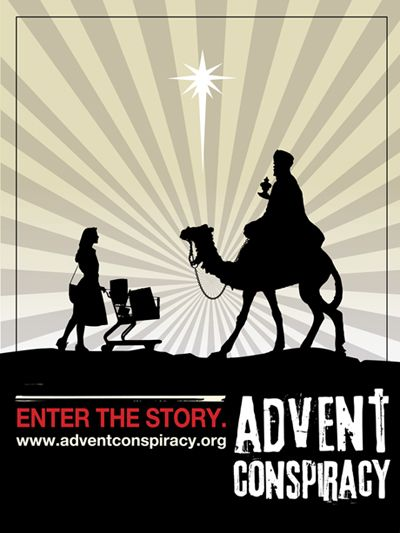 """The Advent Conspiracy: A different (better?) way to get ready for """"the holidays"""""""