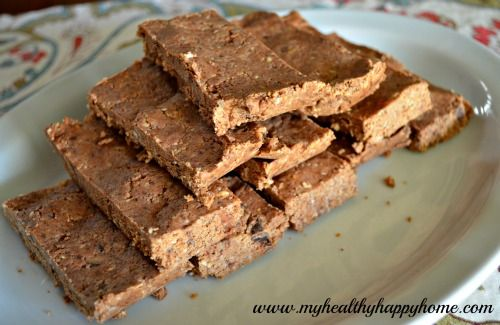 Protein/Meal Replacement Bar-These look really good and easy!